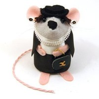 Coco Chanel-o-mouse  - Whimsical  Unique Gift Ideas for the Coolest Gift Givers