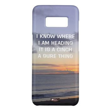 Cinch Quote by Kat Worth Case-Mate Samsung Galaxy S8 Case