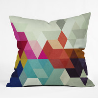 Three Of The Possessed Modele 7 Outdoor Throw Pillow