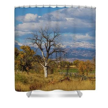 Fences Shower Curtain