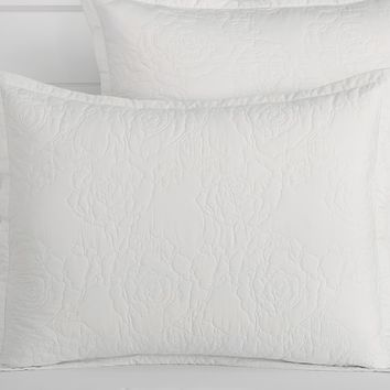 Monique Lhuillier Sateen Garden Rose Quilted Bedding