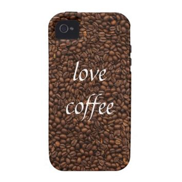 Love Coffee - Pile of Beans iPhone 4/4S Case Cover
