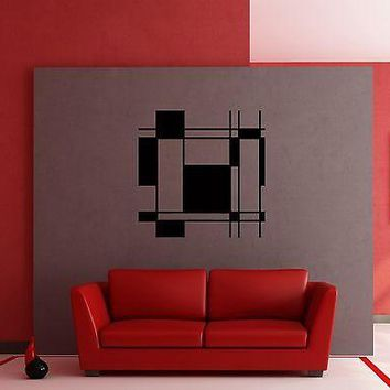 Wall Stickers Vinyl Decal Modern Abstract Decor for Living Room Unique Gift z1225