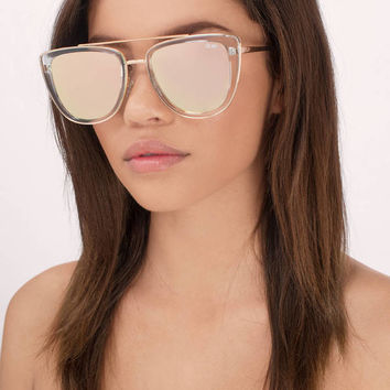 QUAY French Kiss Oversized Sunglasses