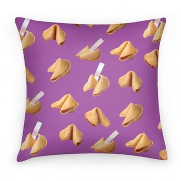 Fortune Cookie Pillow (Purple)