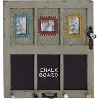 Distinctive Wood Metal Wall Photo Frame