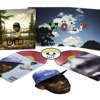 TYLER, THE CREATOR - WOLF DELUXE EDITION VINYL (2LP + CD) – golfwang