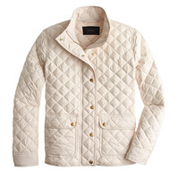 J.Crew Womens Tall Quilted Puffer Jacket