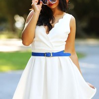 Let Freedom Ring Dress: White - Dresses - Hope's Boutique