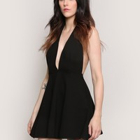 LIGHTS OUT MINI DRESS