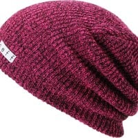 Neff Daily Heather Magenta & Black Beanie