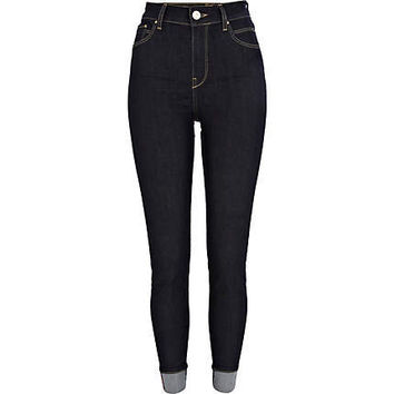 Dark wash Lana superskinny jeans  - skinny jeans - jeans - women