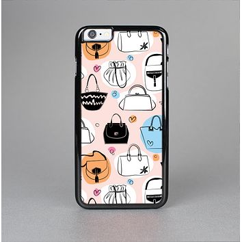 The Subtle Pink And Purses Skin-Sert Case for the Apple iPhone 6 Plus