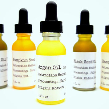 Organic Moroccan  Argan Oil - Cold Pressed - Hair Serum - Anti-aging Treatment - Antioxidant Serum - Natural Skin Care - Organic Skincare