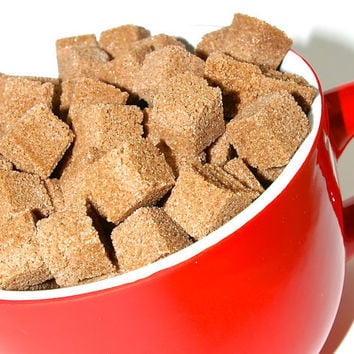Chocolate Flavored Sugar Cubes 6 Oz Bag for for Tea Parties, Hot Cocoa, Champagne Toasts, Favors, Coffee, Tea, Berries, Cider, Lemonade