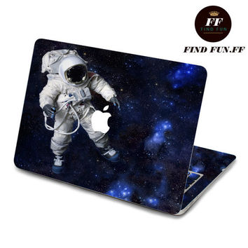 back cover keyboard decal mac pro decals stickers sticker Apple Mac laptop vinyl 3M surprise gift for her him beautiful 宇航员1-073