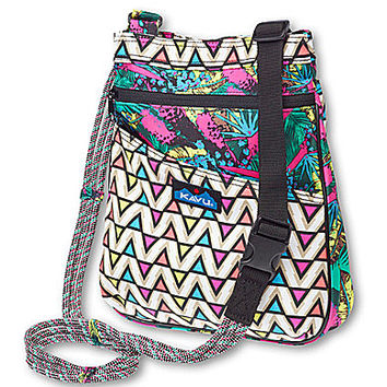 Kavu Keepsake Printed Cross Body Bag