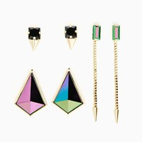 Slick Geo Earring Set