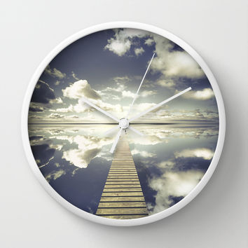 Vanity Wall Clock by HappyMelvin
