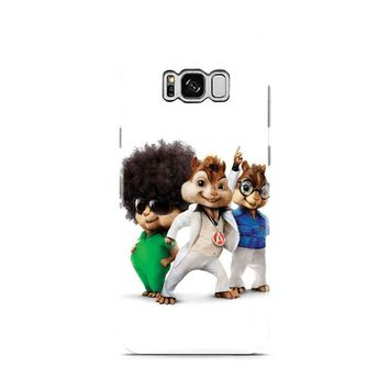 Alvin And The Chipmunks The Road Chip Movies 70s Samsung Galaxy S8 | Galaxy S8 Plus Case