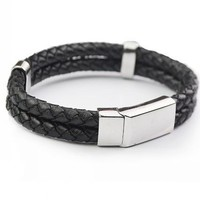 Shiny Hot Sale Gift New Arrival Awesome Great Deal Stylish Titanium Men Accessory Bracelet [6526731395]