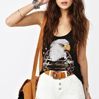 Shredded Cutoff Shorts - White in  Clothes Bottoms at Nasty Gal