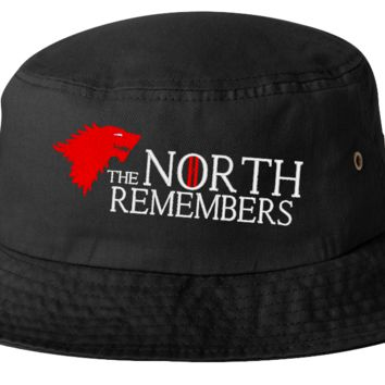 the norths remembers  bucket hat