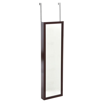 Mirrotek Wall Mounted Jewelry Armoire with Mirror & Reviews   Wayfair