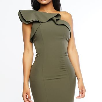 Lucia Dress - Olive