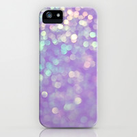 Purple Glitter iPhone & iPod Case by Pink Berry Pattern