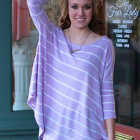 Here Comes The Sun Top {Lavender}
