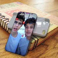 Nash Grier and Cameron Dallas Cameron Dallas Nash Grier Magcon | For iPhone 5/5S Cases | Free Shipping | AH0591