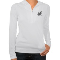 Hoodie Dark pegasus illustration from Zazzle.com