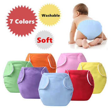 1 piece Baby Diapers/Children Cloth Diaper/Reusable Nappies/Adjustable Diaper Cover/Washable/Free Shipping