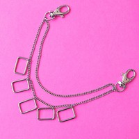 Five Squared Pocket Chain
