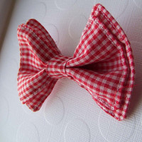 Red Gingham Bow Tie, Bow Tie, Bowtie, Doctor Who Baby, Toddler Bow Tie, Newborn Bow Tie, Mens Bow Tie, Baby Bow Tie, Boys Bow Tie