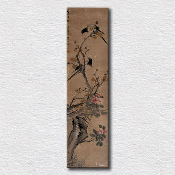 Old traditional Chinese calligraphy hot sell wall art for modern living room decoration high quality decoration/ 40cmx150cm