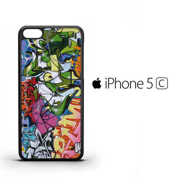 Wall Graffiti X1425 iPhone 5C Case