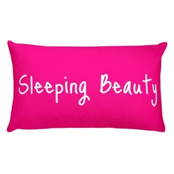 Sleeping Beauty Basic Pillow