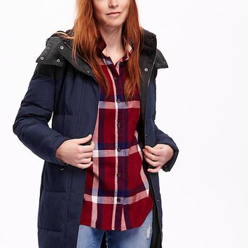 Old Navy Frost Free Color Block Coat