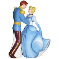 Cinderella and Prince Charming Dance Magnetic Salt & Pepper Shakers