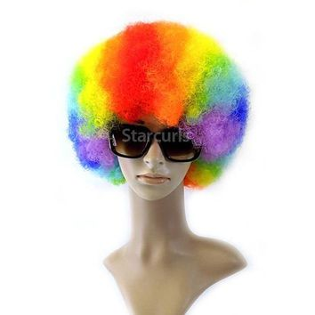 PREMIUM FIBER SYNTHETIC WIG (AFRO)