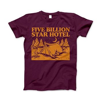 5 Billion Star Hotel Shirt For Camping Hiking And Outdoor Enthusiast