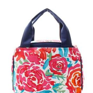 Lunch Tote Flower