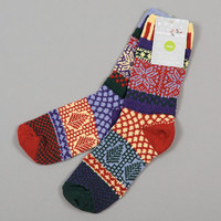 solmate socks - winterberry recycled cotton socks