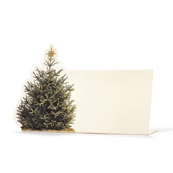Christmas Tree Place Cards