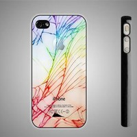 glass cracked out iPhone 44S Case iPhone 5 Case Samsung Galaxy S2 Case Samsung by WINCUSTOM