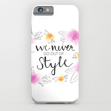 Style iPhone & iPod Case by Whitney Werner