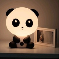Cute Cartoon Baby Kungfu Panda Night Light Lamp