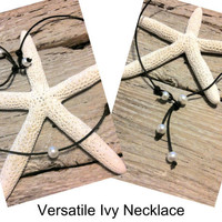 Seaside Pearls Ivy Necklace Freshwater Pearl and by chogan2322